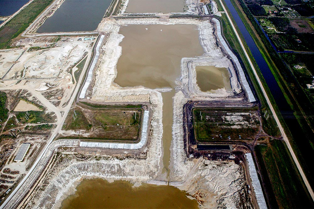 L-8 Reservoir Construction, January 2014